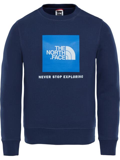 The North Face Box Midlayer Kinderen blauw